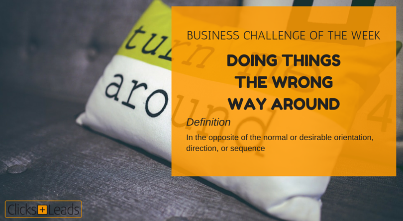 BUSINESS CHALLENGE OF THE WEEK - around